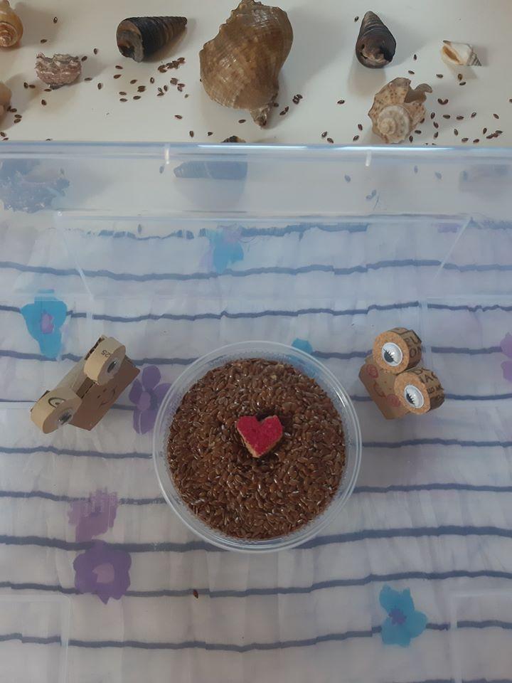 Śluz ślimaka z nasion siemienia lnianego
